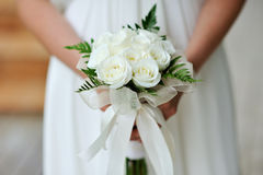 Bouquet of the bride royalty free stock photo
