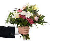 Bouquet bunch of flower Stock Photography
