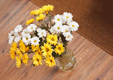 Bouquet of chamomile flowers royalty free stock images