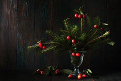 Bouquet of a Christmas tree Royalty Free Stock Images