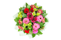 Bouquet from chrysanthemums stock image