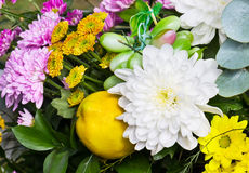 Bouquet of chrysanthemums Royalty Free Stock Image