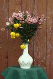Bouquet from chrysanthemums. Stock Image