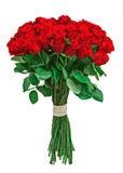 Bouquet coloré de fleur d'isolement sur le fond blanc Images libres de droits