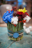 Bouquet of colorful flowers Royalty Free Stock Photo