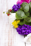 Bouquet of colorful flowers Stock Photography