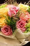 Bouquet, colorful spring flowers Royalty Free Stock Images