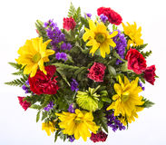 Bouquet of Colorful Spring Flowers Royalty Free Stock Photos