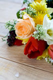Bouquet of colorful spring flowers Royalty Free Stock Photography