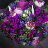 Bouquet of colorful spring flowers. Stock Photos
