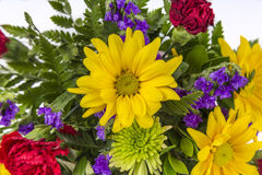 Bouquet of Colorful Spring Flowers Royalty Free Stock Photo