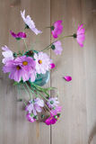 Bouquet of colorful wildflowers rural morning Royalty Free Stock Photos