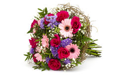 Bouquet of colourful flowers Stock Photo