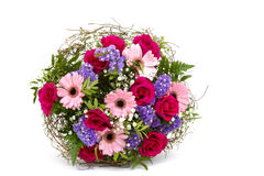 Bouquet of colourful flowers Royalty Free Stock Photo