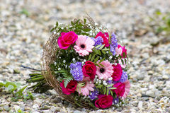 Bouquet of colourful flowers Stock Photos