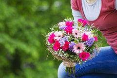 Bouquet of colourful flowers Stock Photography
