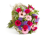 Bouquet of colourful flowers Stock Image