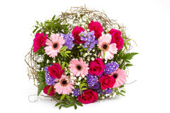 Bouquet of colourful flowers Royalty Free Stock Image