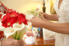 Bouquet and Corsage Stock Photos