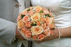 Bouquet crème. Images stock