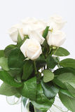 Bouquet of cream roses i Royalty Free Stock Photography