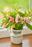 Bouquet d'alstroemeria Photos stock