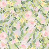 Bouquet d'aquarelle des fleurs Composition florale colorée peinte à la main d'isolement sur le fond blanc illustration de vecteur