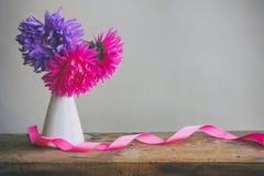 Bouquet d'aster des fleurs Images libres de droits