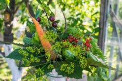 Bouquet d'automne des légumes mûrs photo libre de droits