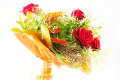 Bouquet d'isolement de fleur Photo stock