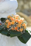 Bouquet dans des feuilles vertes Photo libre de droits