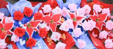 Bouquet dans la célébration photo stock