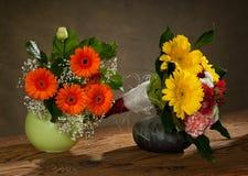 Bouquet dans le vase Images stock
