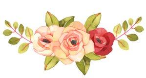 Bouquet de Bohème de fleur avec des roses Photo stock