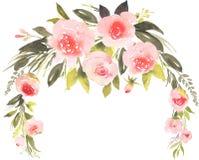 Bouquet de Bohème de fleur avec des roses Image libre de droits