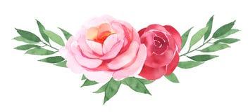 Bouquet de bohémien de fleur Photographie stock
