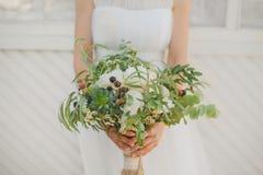 Bouquet de boho de mariage Photo libre de droits