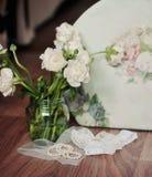 Bouquet de couleurs blanches Images libres de droits
