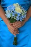 Bouquet de demoiselle d'honneur Image libre de droits