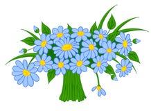 Bouquet de dessin animé Animated des marguerites illustration de vecteur