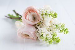 Bouquet de fête sensible de mariage image libre de droits
