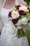 Bouquet de fixation de mariée Images stock