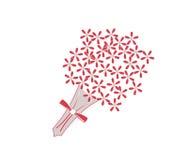Bouquet de fleur illustration libre de droits