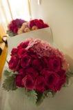 Bouquet de fleur de jeune mariée Images libres de droits