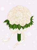 Bouquet de fleur de mariage Photographie stock libre de droits