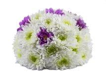 Bouquet de fleur de ressort d'isolement sur le blanc Photos stock