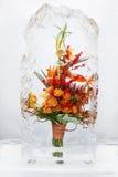 Bouquet de fleur en glace V photos libres de droits