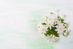 Bouquet de fleurs blanches Photographie stock libre de droits