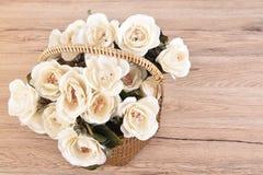 Bouquet de fleurs blanches Photographie stock