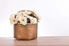 Bouquet de fleurs blanches Photos libres de droits